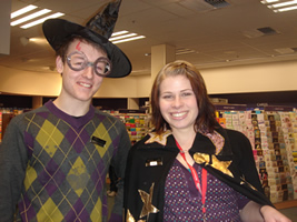 Whitcoulls staff welcome HarryPotter