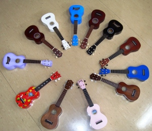 There's a uke to suit everyone