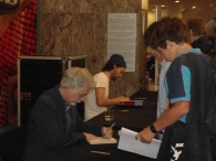Book-signing with Eoin Colfer