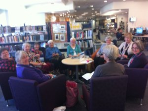 Knitters at Fendalton Library