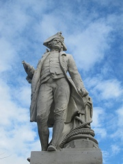 Photo of Captain Cook Statue