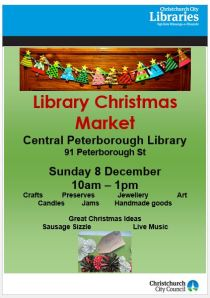 Library Christmas Market