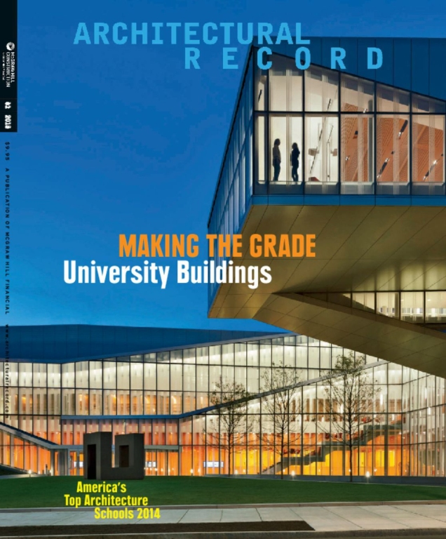 Cover of Architectural record