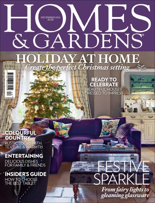 Cover of Homes & Gardens