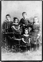 Five of the six children of Thomas Jones Walker Shand [1886]