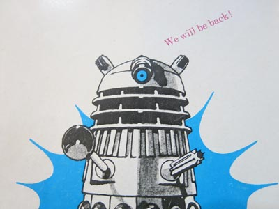 Dalek saying goodbye
