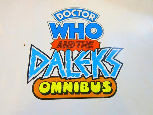 Dr Who and the Daleks omnibus