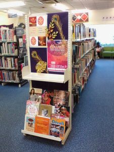 Photo of Diwali display at Hornby Library