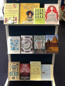 Quirky Titles Display at Bishopdale Library