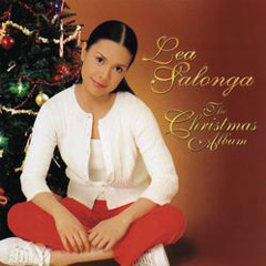 Cover of The Christmas Album by Lea Salonga