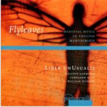 Album cover:  Medieval Music in English Manuscripts