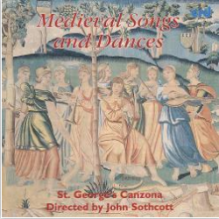 Albume cover: Medieval Songs and Dances