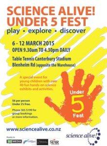Under 5 Fest Poster