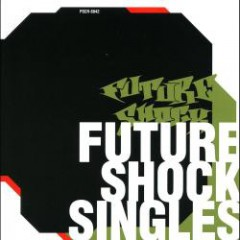 Cover of Futureshock Singles by Zeebra
