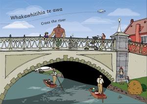 Artwork from Storytime Te Wā Kōrero