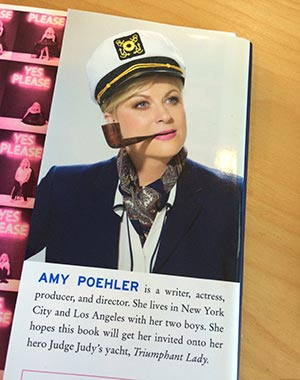 Amy Poehler author photo