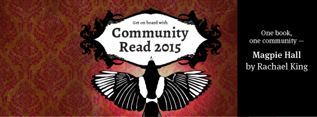 Community Read 2015 Magpie Hall