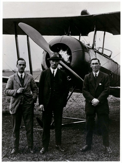 Captain Euan Dickson, Mr C.H. Hewlett and Mr J.E. Moore
