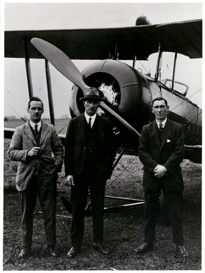 Captain Euan Dickson, Mr C.H. Hewlett and Mr J.E. Moore