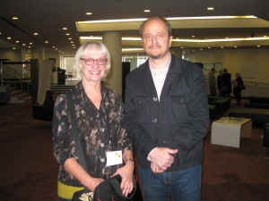 Roberta and Jeffrey Eugenides, Flickr, CCL-AWRF-2012-05-12
