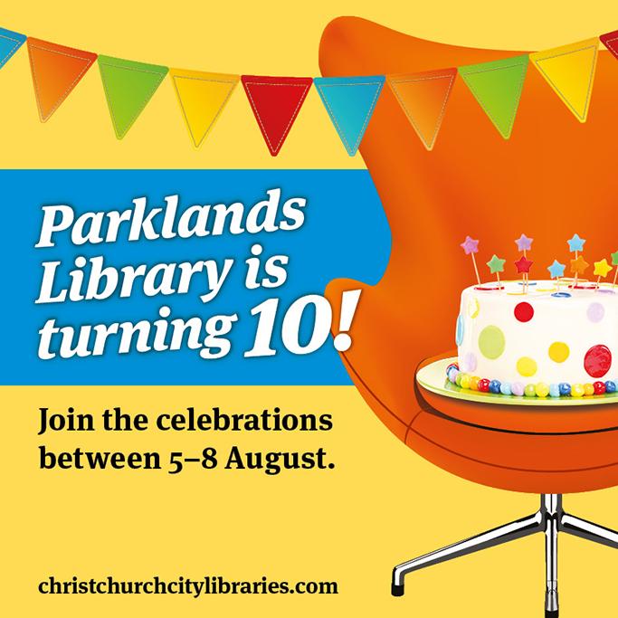 Parklands 10th Anniversary - Facebook tile