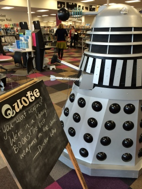 Dalek at Central Library Peterborough