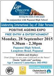 Positive Ageing Expo 2015