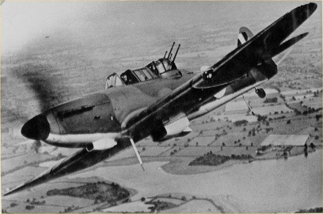 Boulton Paul Defiant Mk I. Date [circa 1940]