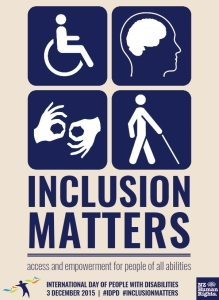 Inclusion matters poster