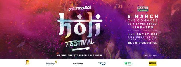 Holi festival 2016