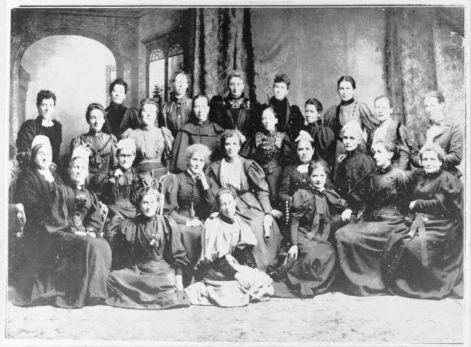National Council of Women, Christchurch. Ref: 1/2-041798-F. Alexander Turnbull Library, Wellington, New Zealand. http://natlib.govt.nz/records/22694035