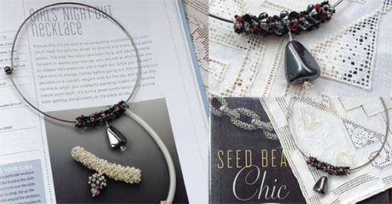 Seed bead chic project