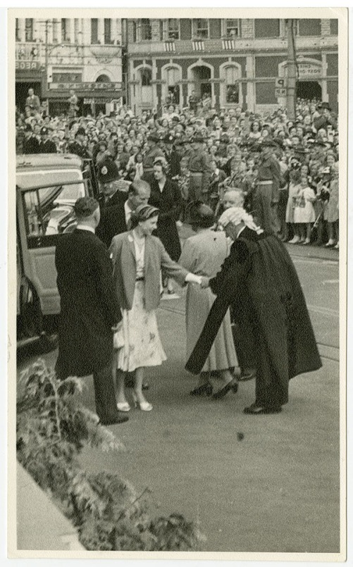 Queen Elizabeth II in Christchurch