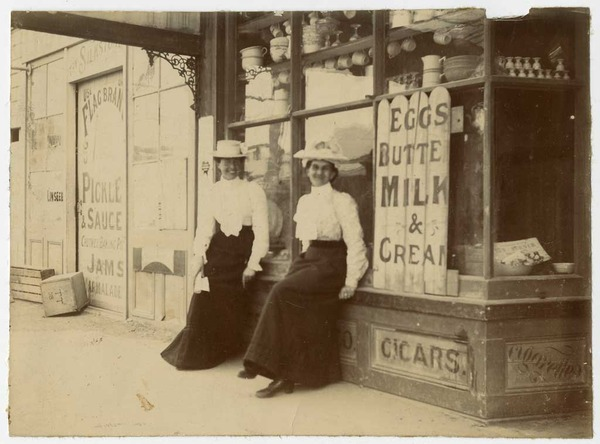 Emily Treleaven and Clara Coles