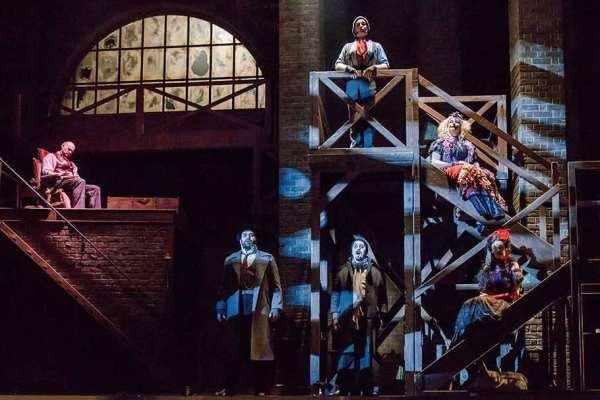 The Sweeney Todd set