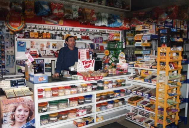 Interior of Terminus Convenience Store