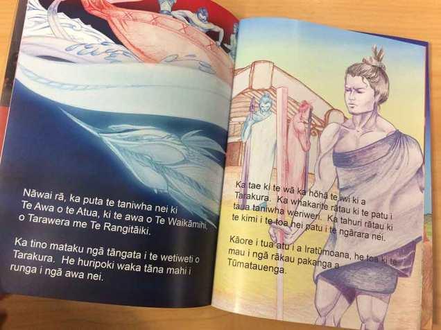 Te Reo Wainene o Tua booklet