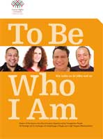 Cover of To be who I am