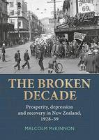 Cover of The broken decade