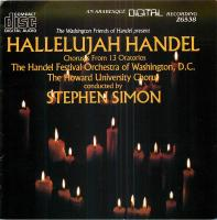 Cover of Hallelujah Handel [choruses From L3 Oratorios]