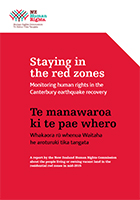 Cover of Staying in the red zones