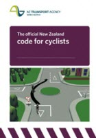 Cover of The official New Zealand road code for cyclists