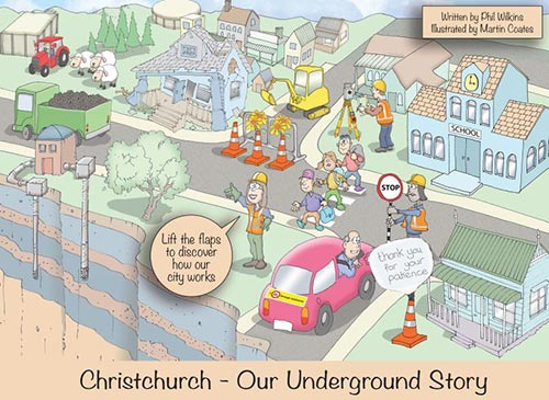 Cover of Christchurch: Our underground story