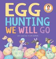 Cover of egg hunting we will go