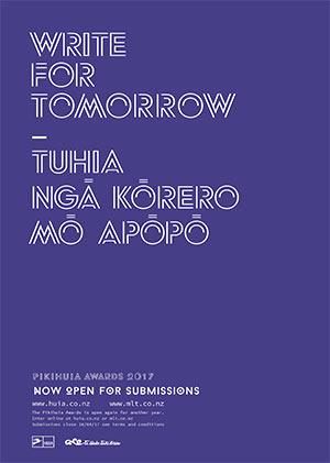 Pikihuia Awards poster 2017