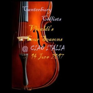 Canterbury Cellists poster