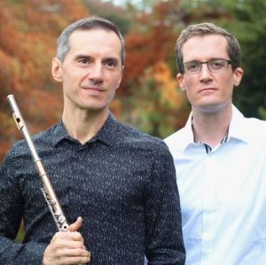 Luca Manghi (flute) and David Kelly (piano)