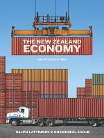 Cover of The New Zealand economy