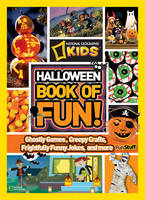 Cover of Halloween book of fun