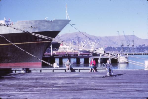 Wahine at Lyttelton, 1965